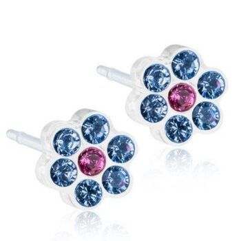 Daisy Alexandrite/Rose 5mm 1 paar
