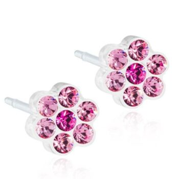Daisy Light Rose/Rose 5mm 1 paar
