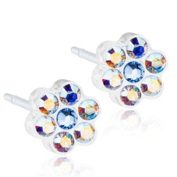 Daisy Rainbow/Alexandrite 5mm 1 paar