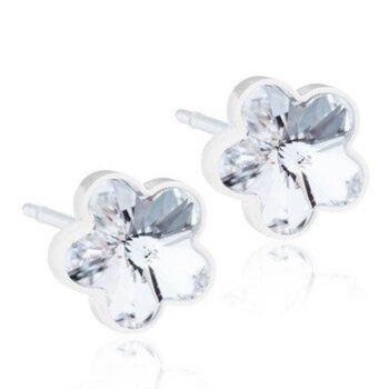 Flower Crystal 6mm 1 paar