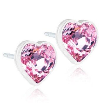 Heart 6mm Light Rose