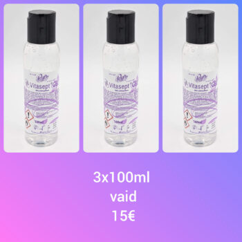 Vitasept® Gel 100ml x 3tk