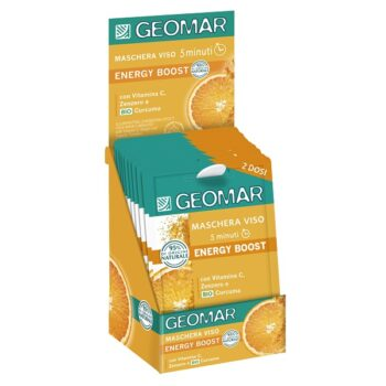 Geomar ergastav näomask C-vitamiini, ingveri ja orgaanilise kurkumiga 2×7,5ml
