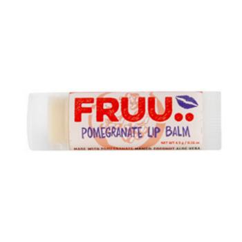 FRUU vegan ja 100% looduslik granaatõuna maitseline huulepalsam 4,5 gr