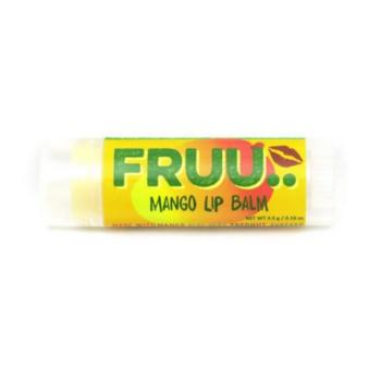 FRUU vegan ja 100% looduslik mangomaitseline huulepalsam 4,5 gr
