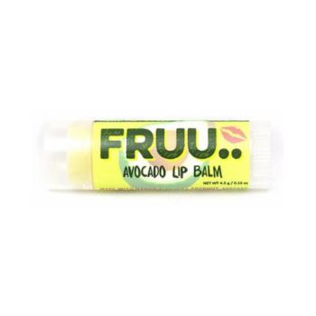 FRUU vegan ja 100% looduslik lõhnatu ja maitseta avokaado huulepalsam 4,5 gr